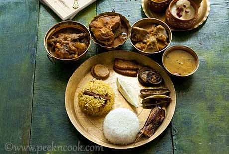 Bengali Non-veg Thali