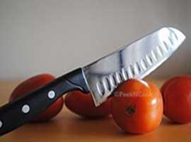 Tips for cutting board & sharp knife