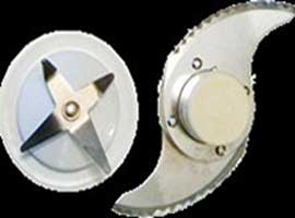 To keep mixer/grinder blades sharp