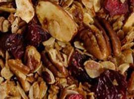 Chopping dry fruits: