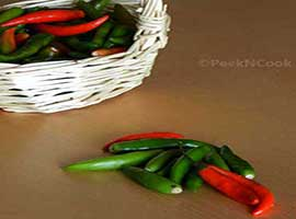 Keeping Green Chilli Fresh For Days