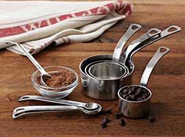Cups & Spoons Measurement