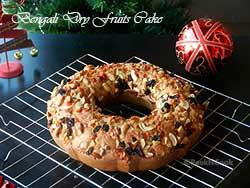 Bengali Style Fruit Cake