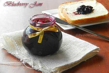 Quick And Easy Homemade Blueberry Jam Recipe