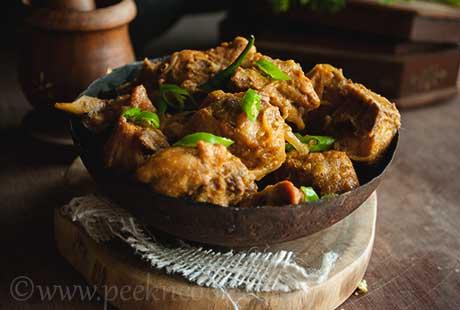 Bono Bihari Murgi or Bengali Spicy Chicken Curry