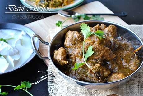 Dahi Chicken Curry