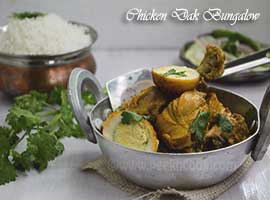 Dak Bungalow/Bangla chicken Curry
