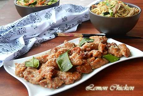 Chinese Style Lemon Chicken Recipe