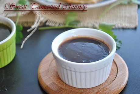 Sweet Tamarind Chatni