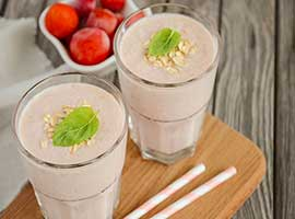 Strawberry Banana Oat Smoothie Recipe