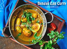 Dimer Dalna/Jhol Or Bengali Egg Curry