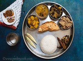 Bangali Niramish Thali