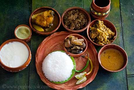 Bengali Bie Bari Thali