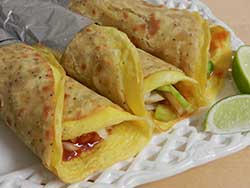 Kolkata Style Chapati Egg Roll Recipe