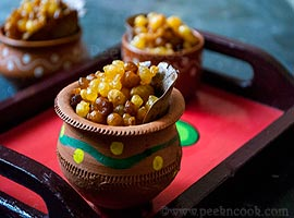 Sweet Boondi Or Bengali Bonde Recipe