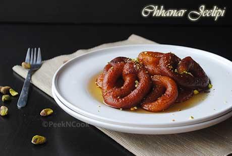 Bengali Chanar Jeelapi-Paneer Jalebi Recipe