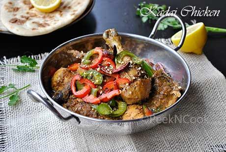 Kadai/Kadhai Chicken Or Karahi Murgh