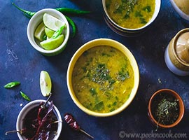Spinach Dal Or Dal Palak