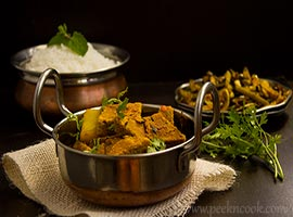 Dhokar Dalna Or Lentil Cake Curry
