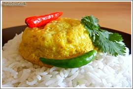 Bengali Baked Egg Or Dimer Paturi