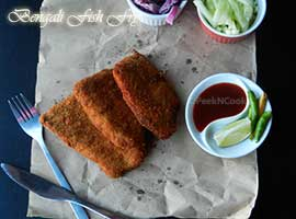 Bengali Crispy Fish Fry Recipe