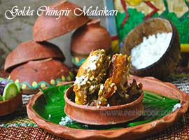 Prawn Malai Curry Or Cingri Machher Malaikari Recipe