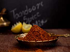 Homemade Tandoori Spice Powder