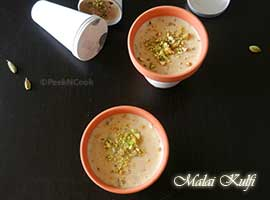 Quick & Easy Or Instant Malai Kulfi Recipe