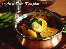 Mutton Or Goat Dak Bungalow Or Dakbangla Curry