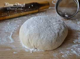 Homemade Pizza Crust Or Pizza Dough