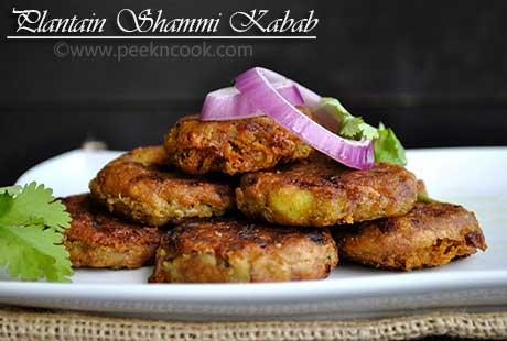 Kachhe Kele Or Kacha Kolar Tikki/Shammi Kebab/Kabab Or Raw Banana Cutlets Or Kanchkolar/Kancha Kolar Chop/Kofta