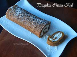 Libby's Pumpkin Cream Roll