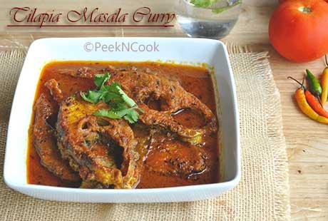 Spicy Tilapia Masala Recipe