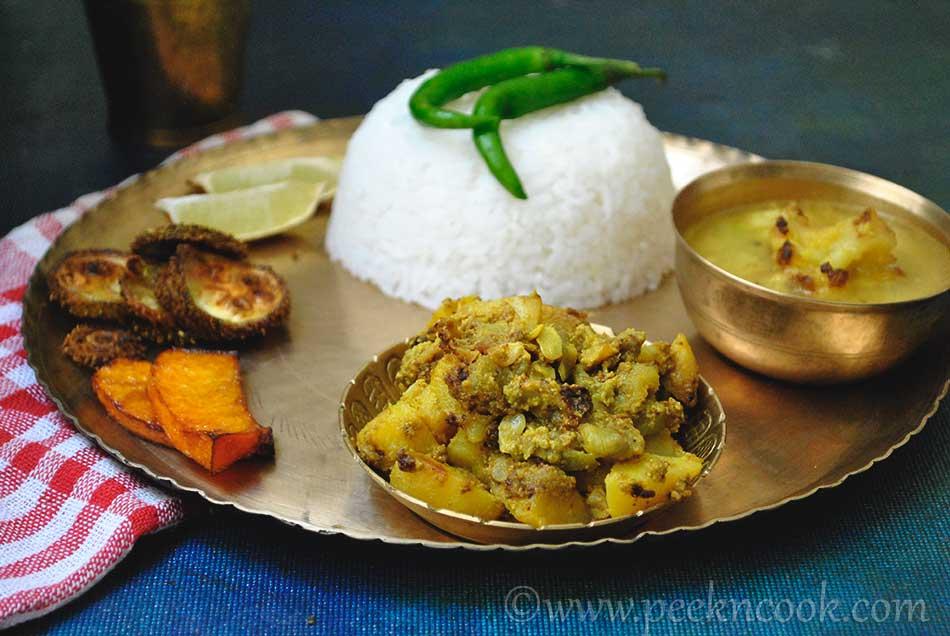 Bengali Veg Thali