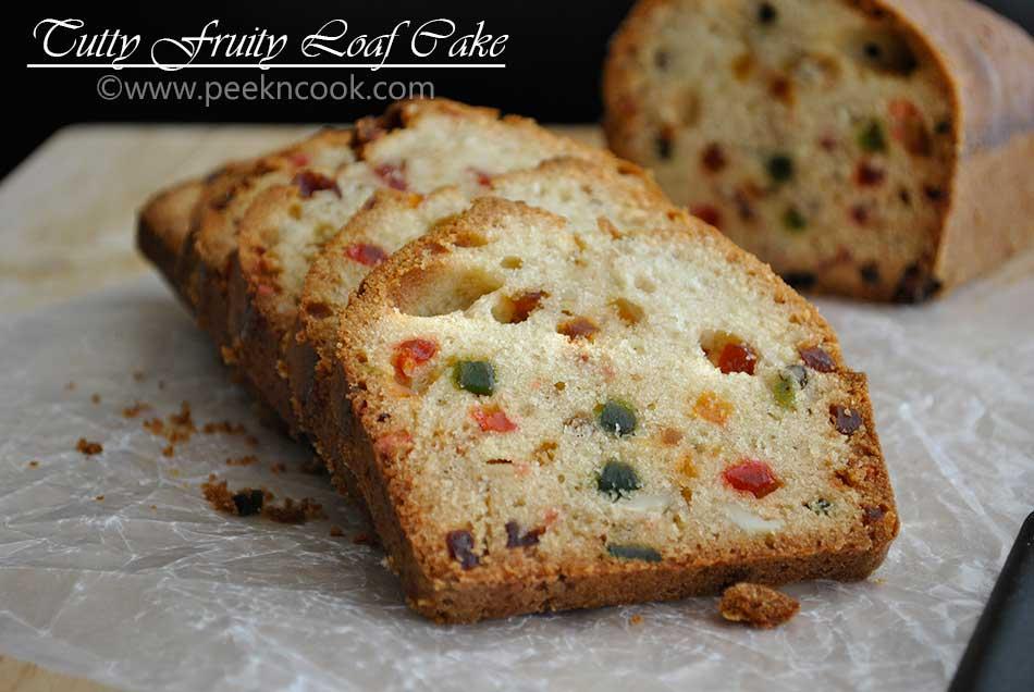 Tutti Fruity Loaf Cake