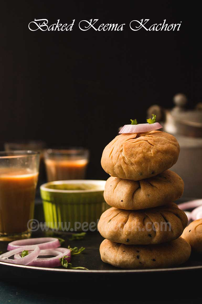 Baked Puff Pastry With Minced Mutton Keema Stuffing