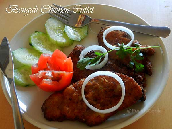 Bengali Chicken Cutlet