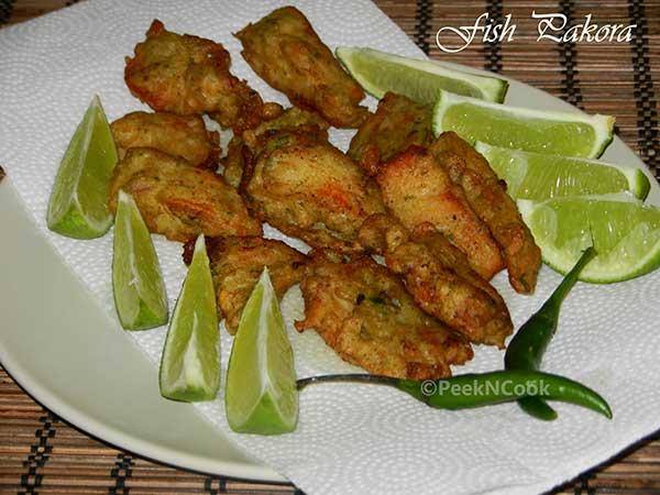 Bengali Fish Pakora