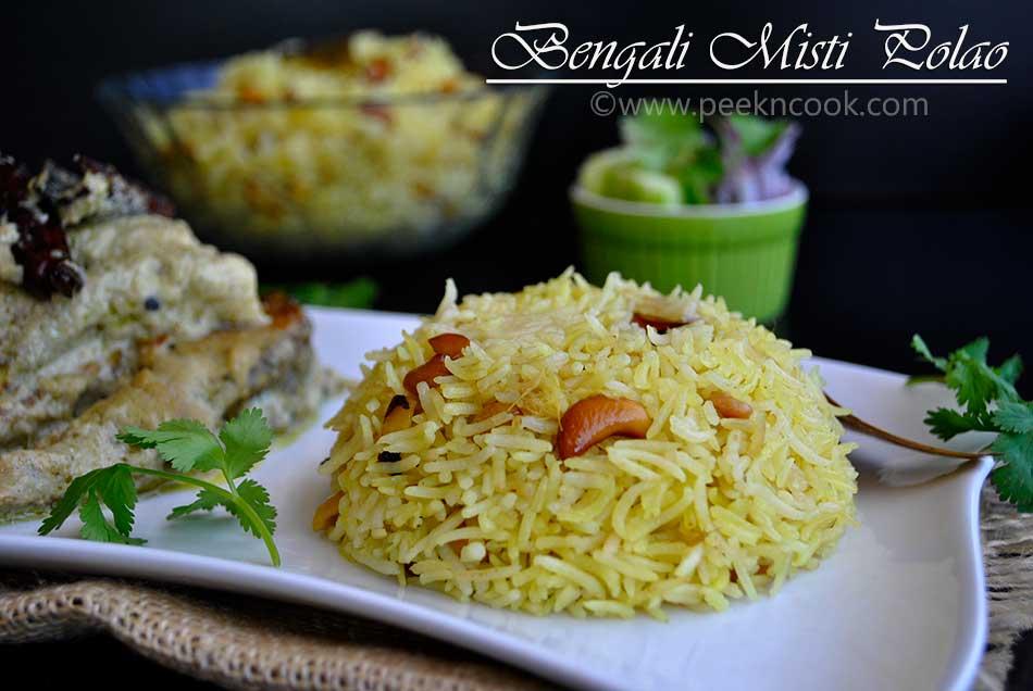 Bengali Misti Polao