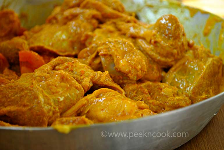 Panthar Mangsher Jhol Or Bengali Mutton Or Goat Curry