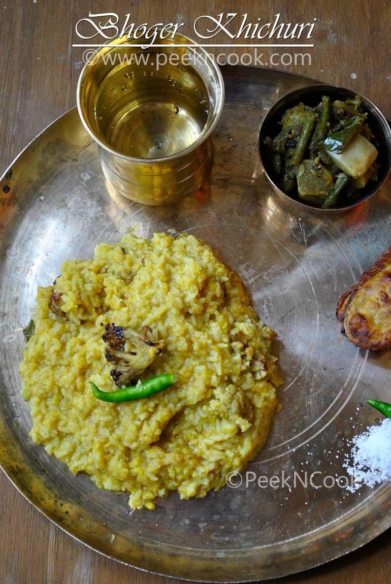 Bhoger Khichuri & Labra/Labdar Torkari