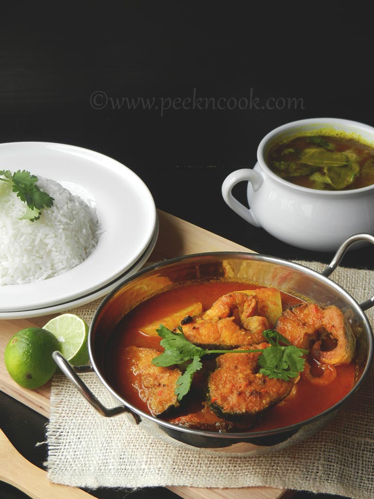 Catfish Curry Or Magur Machher Kaliya