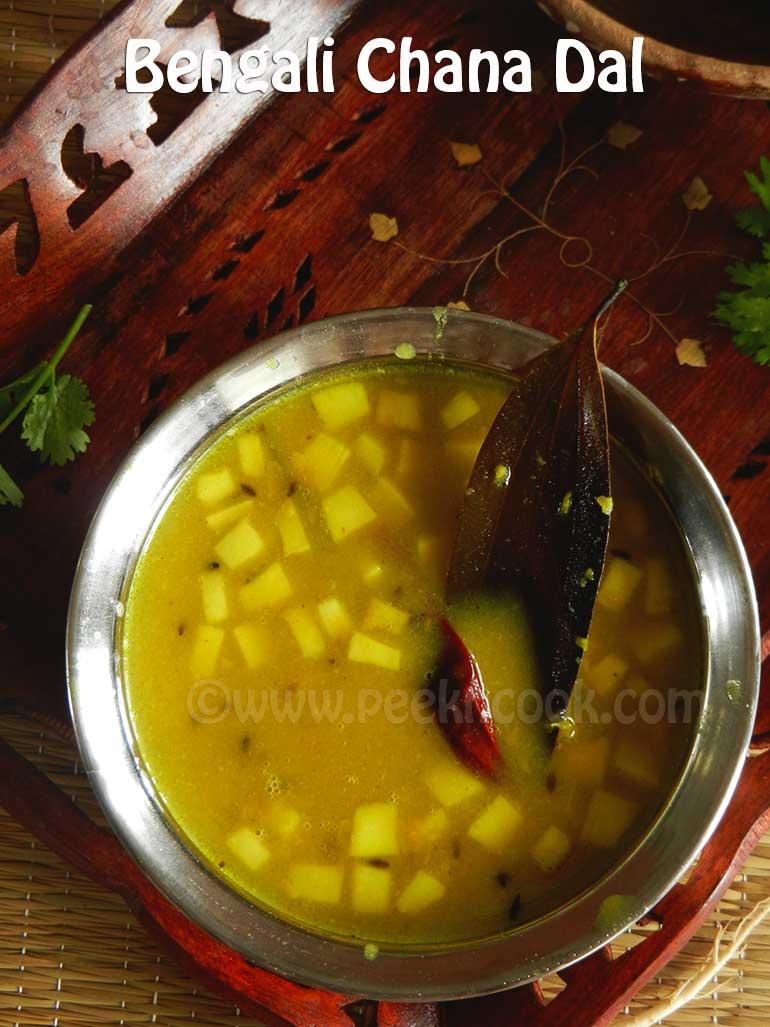 Bengali Chana Dal Or Chholar Dal