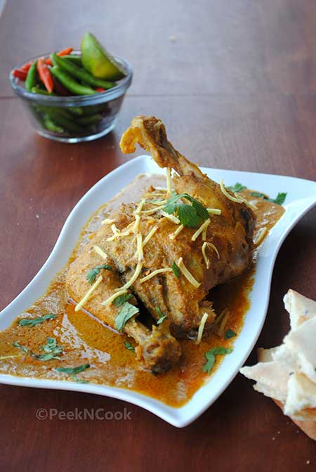 Kolkata Style (Arsalan Restaurant) Easy Chicken Chaap Or Chaanp