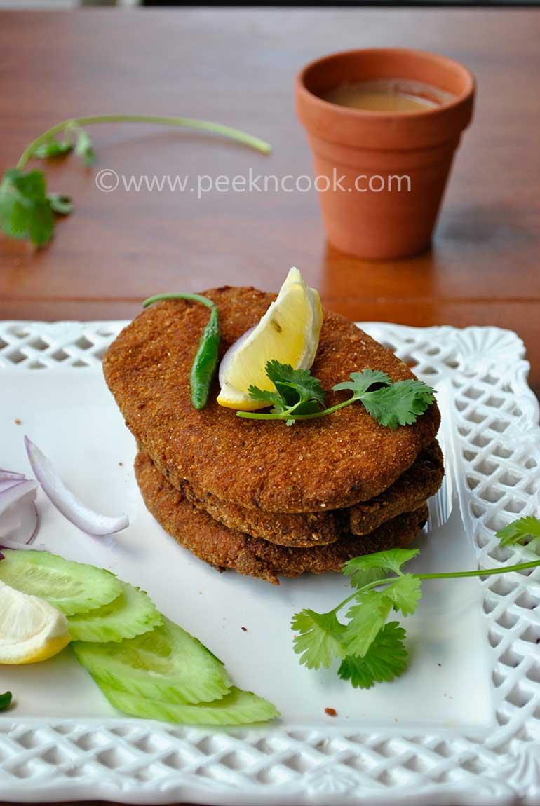 Kolkata Style Chicken Keema Cutlet Or Minced Chicken Cutlet