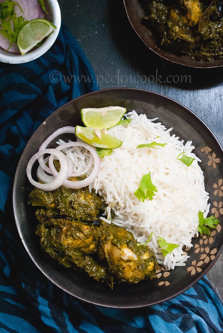 Chicken Or Murgh Saagwala