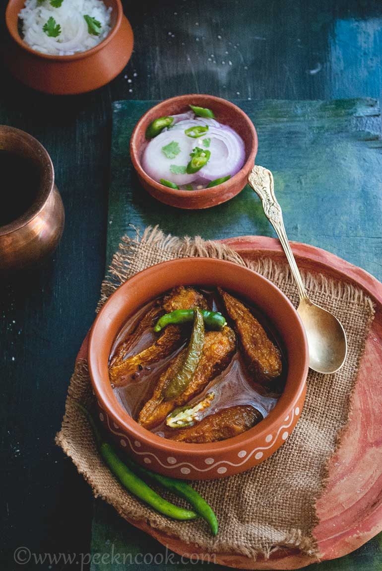 Foli Macher Jhol or Bronze Feather Back Fish curry