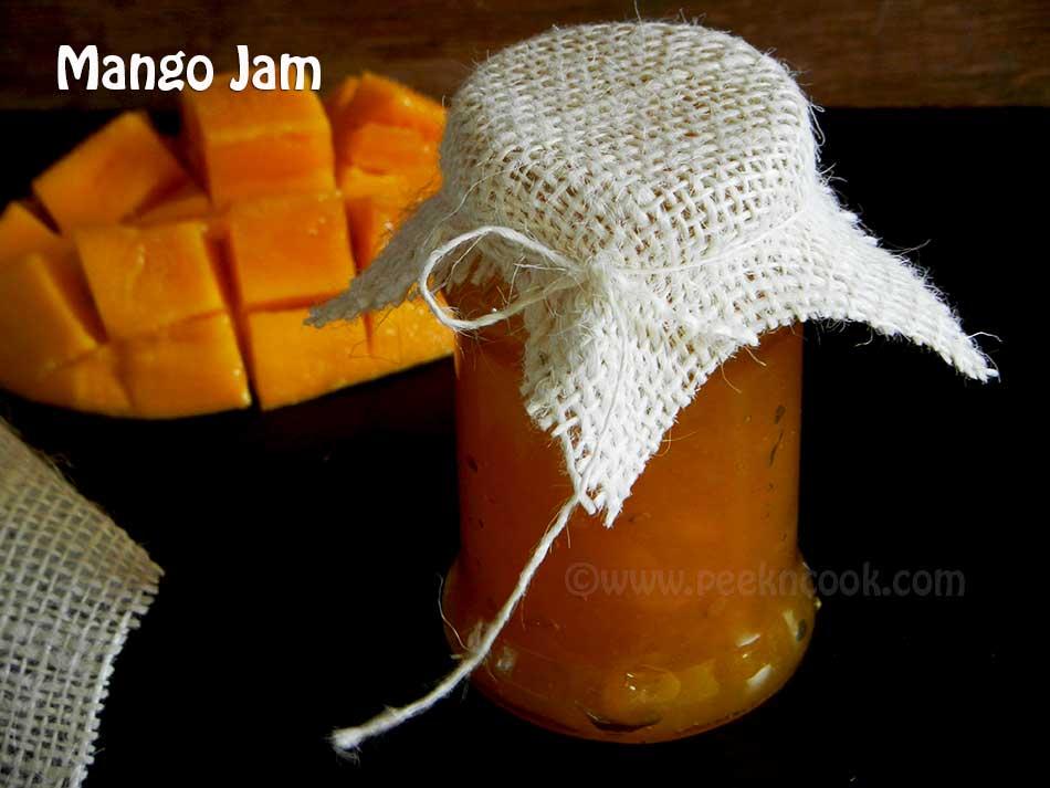 Homemade Mango Jam