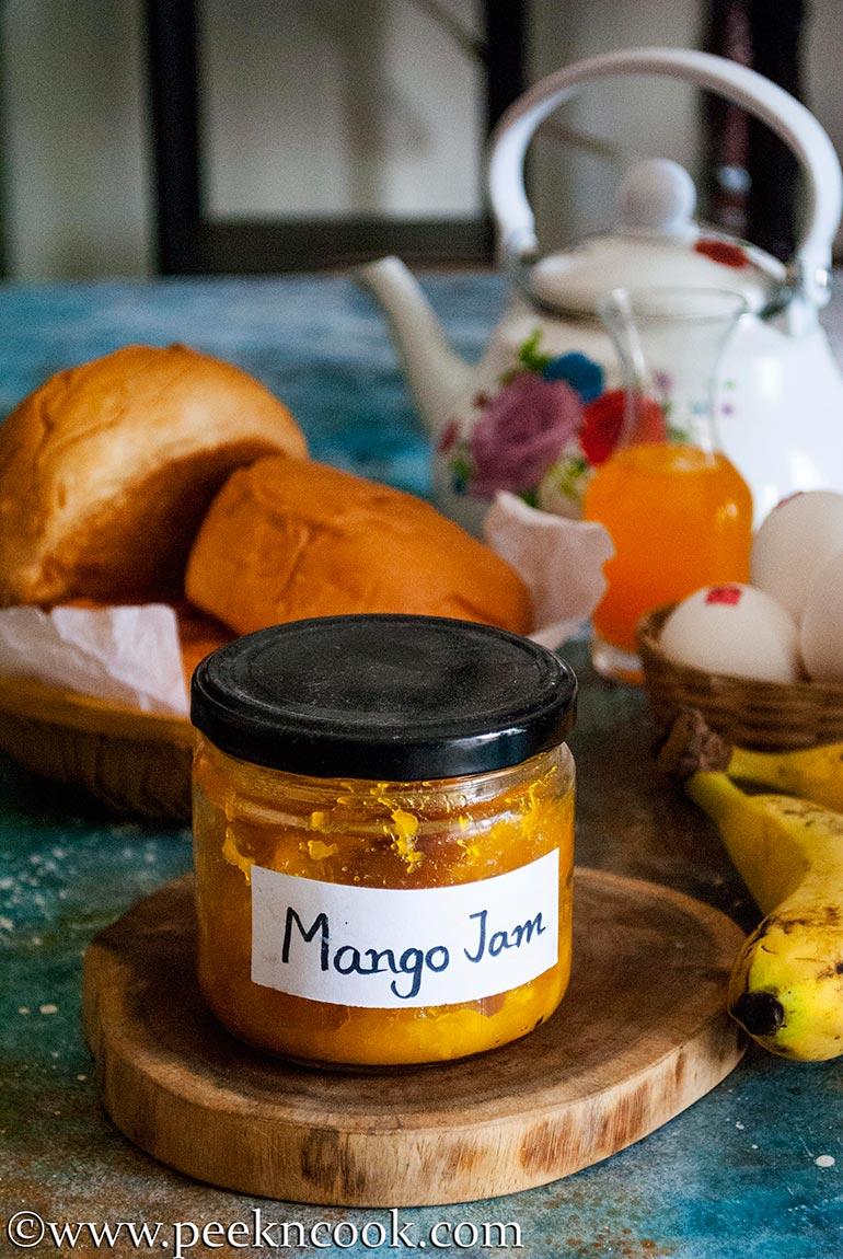 Homemade Mango Jam Without Pectin