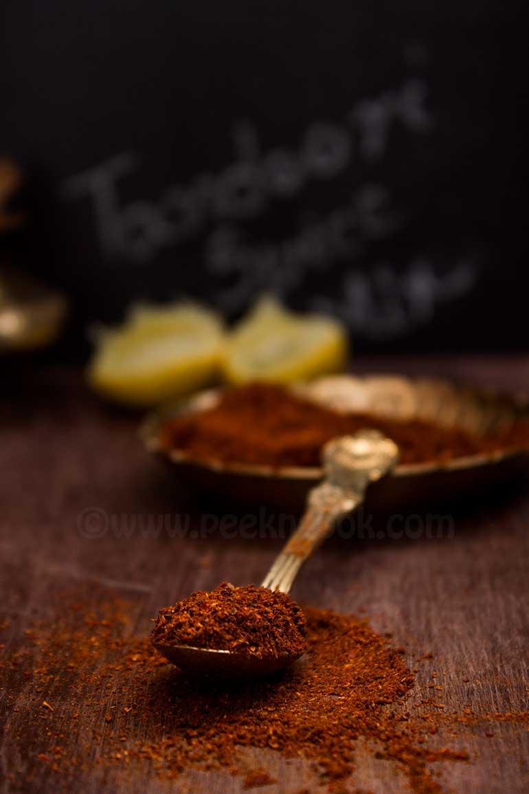 Homemade Freshly Ground Tandoori Spice Powder